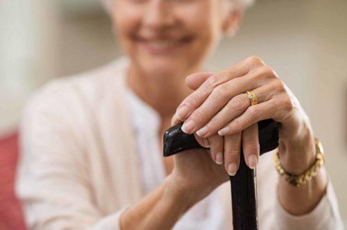 Bastones para personas mayores