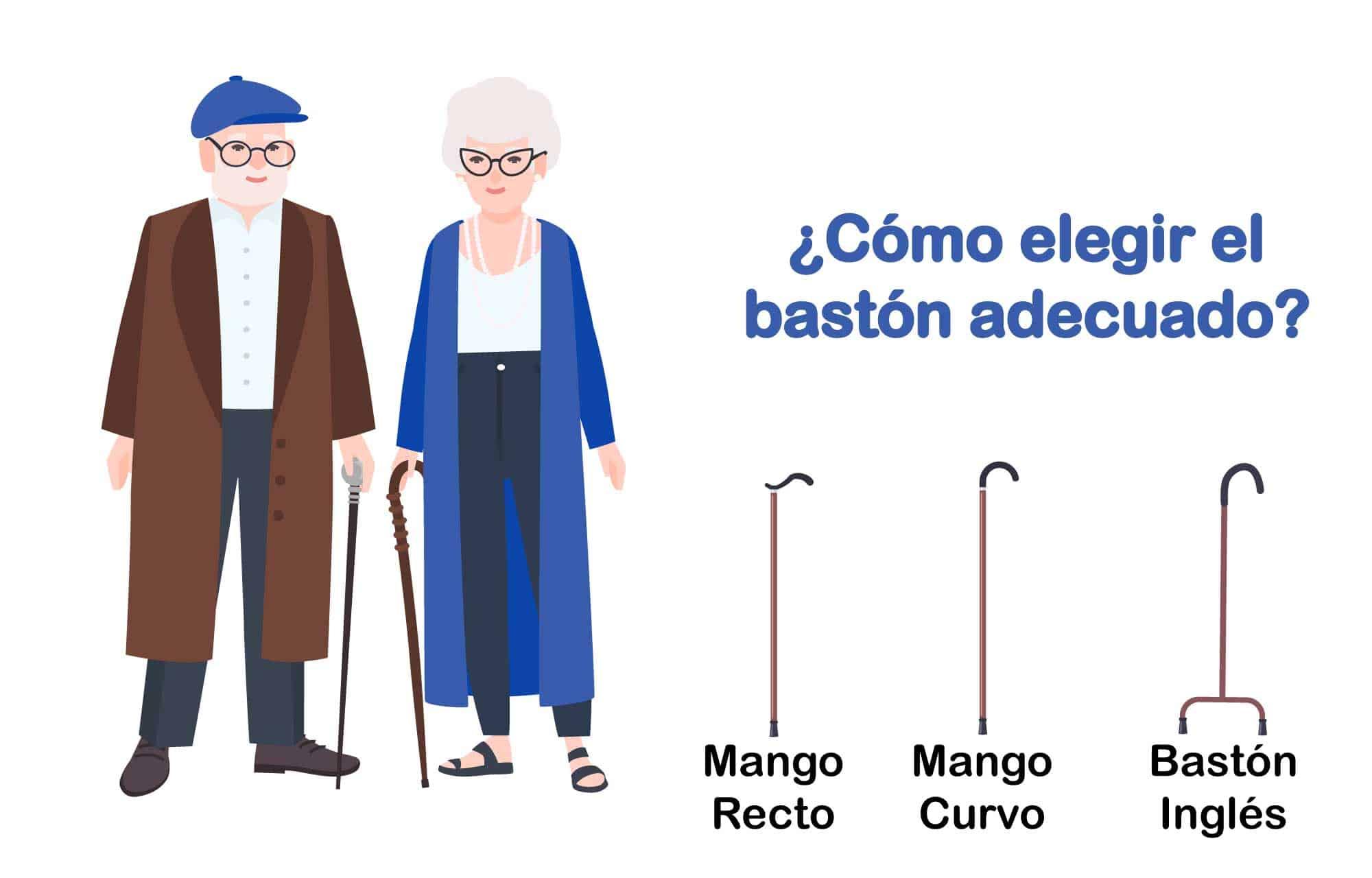 Bastones para mayores