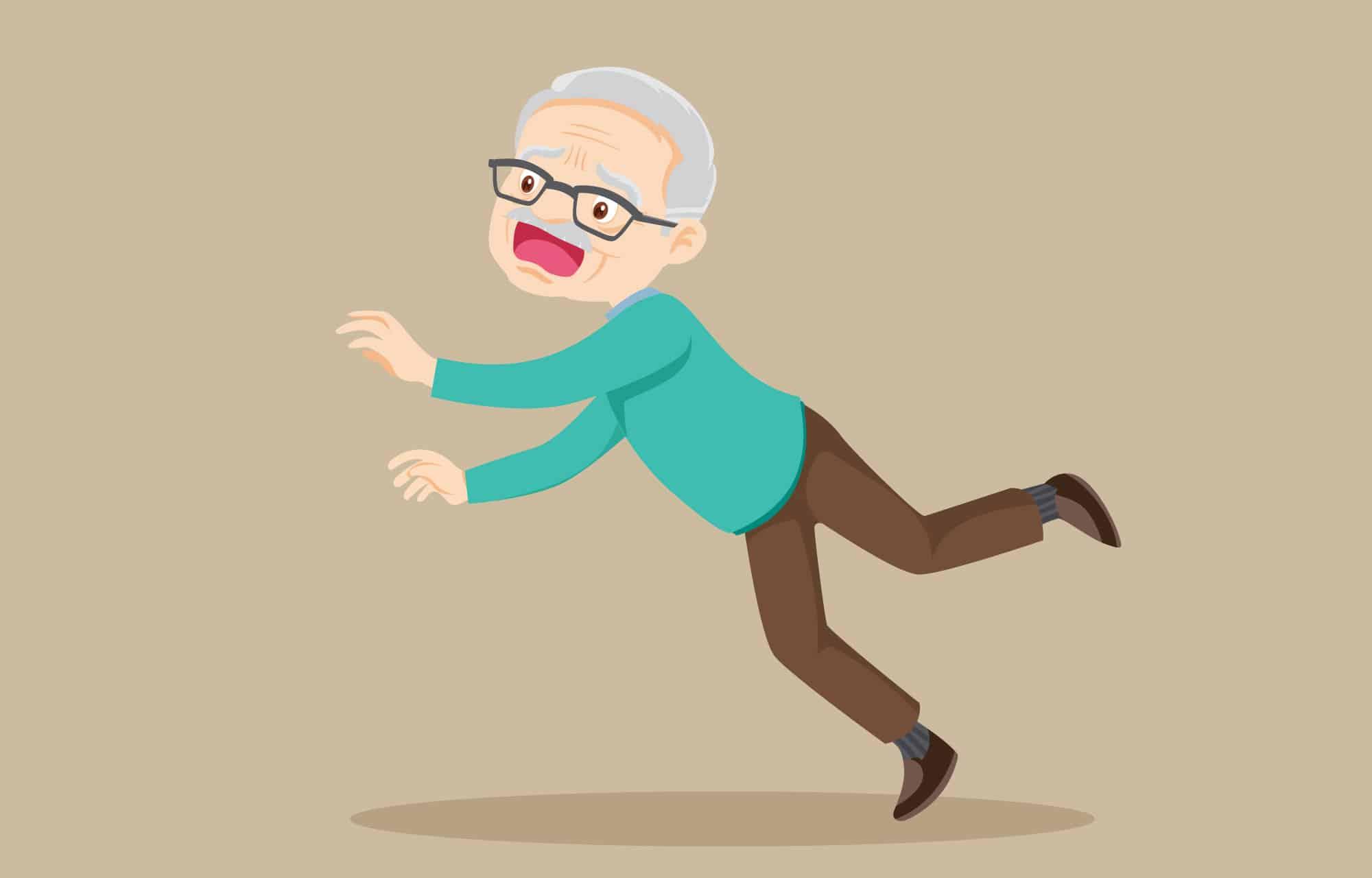 detector de caídas para personas mayores